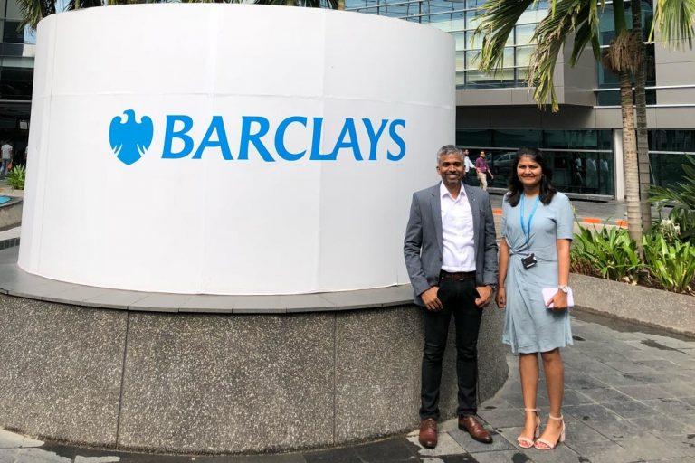 TEA talk at #BarclaysSpeaksIndia